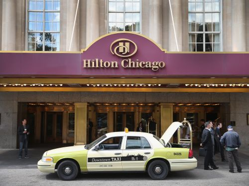 Hilton and American Express will offer hotel rooms free of charge to 1 million healthcare professionals working on the front lines of the coronavirus pandemic