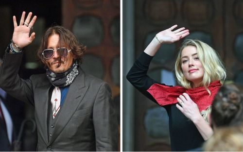 Johnny Depp denies slapping his ex-wife Amber Heard after she laughed at his 'Wino Forever' tattoo