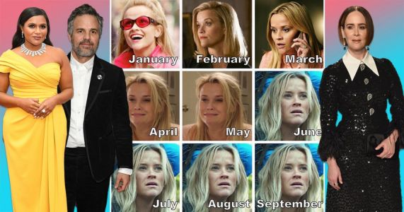 Reese Witherspoon leads celebrities illustrating our collective 2020 mood with meme of the year
