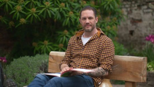 Tom Hardy's Been Busy Recording More Bedtime Stories In His Garden