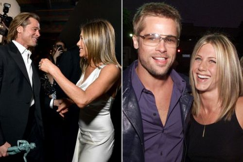 Brad Pitt and Jennifer Aniston are 'back in love after string of secret dates'