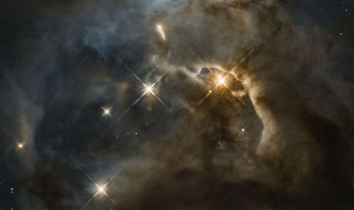 NASA news: Hubble snaps incredible 'flapping bat' across the Universe