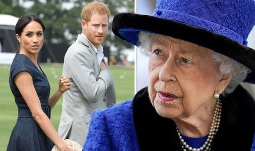Royal Family: US fury as Queen urged to strip Meghan Markle and Prince Harry's titles