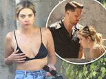 Ashley Benson shows off her bikini body as she spends Memorial Day with new beau G-Eazy