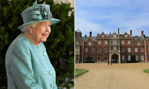 The Queen shares a first look inside stunning drawing room at Sandringham House