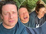 Jamie Oliver jokes that wife Jools is 'driving him up the wall' during lockdown