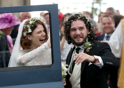 In pictures: Game of Thrones stars tie the knot in Aberdeenshire