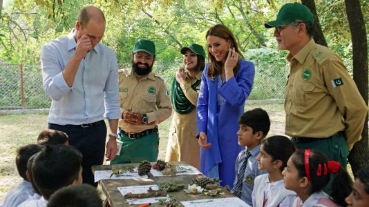 Prince William and Kate in Pakistan - in pictures
