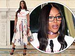 Naomi Campbell looks stylish at The Fashion Awards 2019 announcement and will be awarded Icon prize