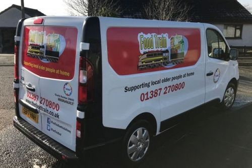 Food Train to increase deliveries thanks to new van