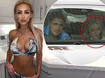 Stephen Bear, 31, pictured with girlfriend Tia McAlister, 17, hours after his arrest