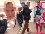 JoJo Siwa, 17, reveals boyfriend's identity in funny TikTok video in which they swap clothes