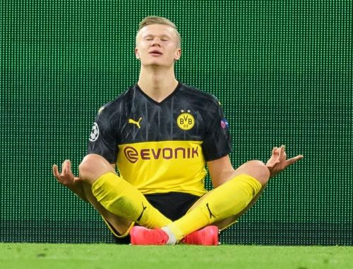 Borussia Dortmund 2 PSG 1: Erling Haaland outshines Neymar with incredible brace in Champions League battle