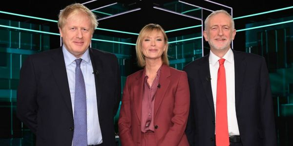 Snap poll finds Boris Johnson and Jeremy Corbyn drew the ITV Leaders Debate