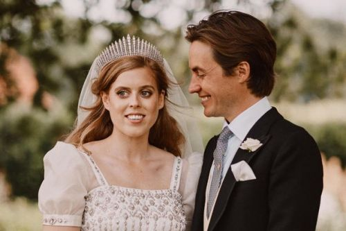 Fergie shares beautiful new photo from Princess Beatrice's secret royal wedding