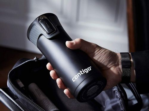 This insulated travel mug is completely leak-proof so your coffee will never spill in your bag - and it's under $20