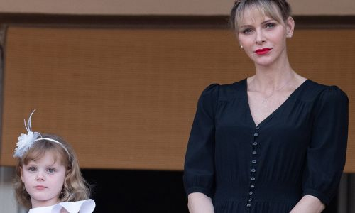 Princess Charlene and daughter now have matching haircuts