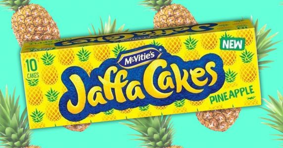 McVitie's launches new pineapple flavour Jaffa Cakes