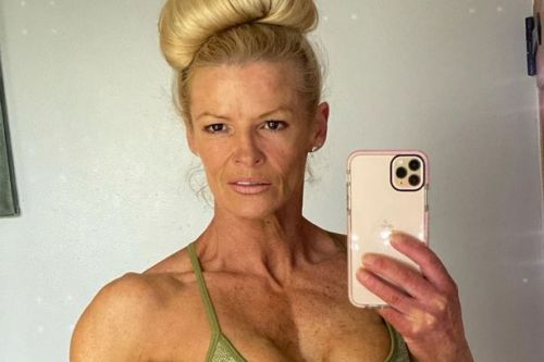 Gladiator's Lightning, 49, flexes jaw-dropping muscles after becoming bodybuilder