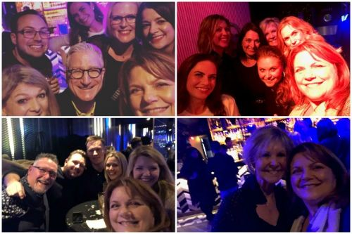 Big wellness weekend and QVC night out!