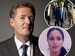 PIERS MORGAN: Mr President, listen to Meghan Markle and stop dividing a country crying out in pain