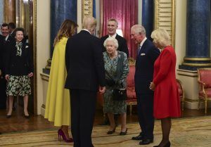 The viral video of the Queen telling off princess Anne for not greeting Trump has finally been explained