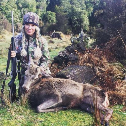 Ex-veggie mum reveals how she feeds her family with birds and deer she killed herself
