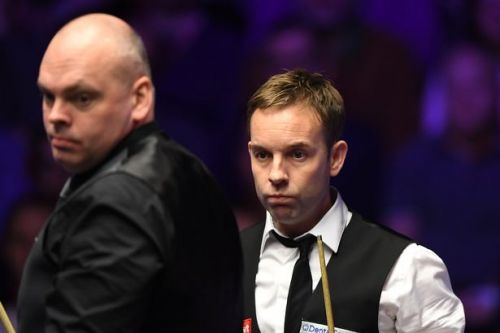 Masters Snooker final halted due to whoopee cushion being planted in the crowd