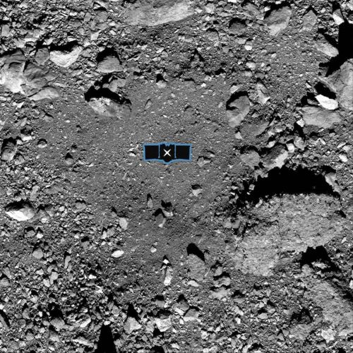 NASA selects site for OSIRIS-REx to collect asteroid samples