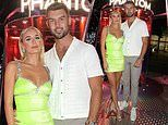 Millie Court and Liam Reardon attend the launch of Paco Rabanne's Phantom fragrance