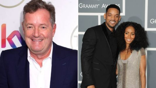 Piers Morgan says Will Smith 'crept into studio' as he grilled Jada about her sex life