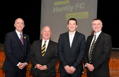 'Churlish' to complain about fate of football club, says Huntly chief Gordon Carter