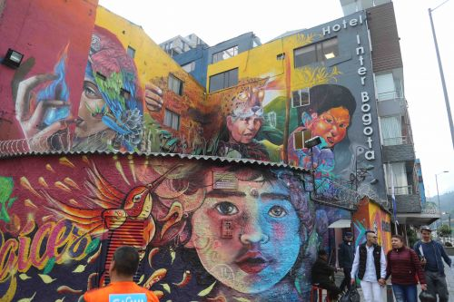 Bogota's street artists are rewriting the state narrative