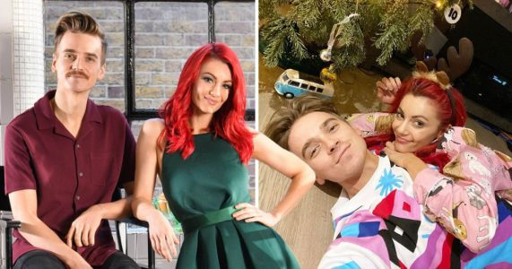 Strictly's Dianne Buswell and Joe Sugg share loved-up snap after being stranded in UK for Christmas
