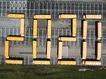 Ohio bus drivers arrange 22 yellow school buses to spell out '2020' to congratulate graduates
