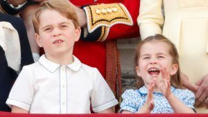 How Princess Charlotte shows that she's a very independent little royal
