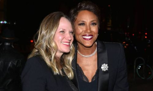 GMA's Robin Roberts' partner Amber pays rare tribute to star during celebratory occasion