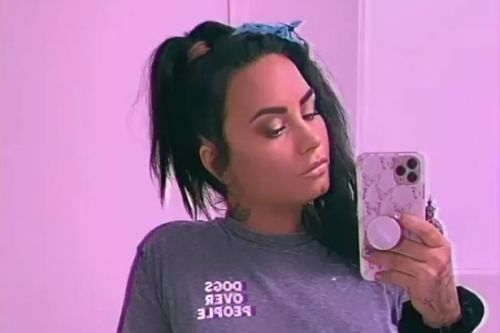 Demi Lovato ditches engagement ring after 'split' from fiance Max Ehrich