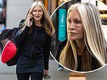 Dancing On Ice's Caprice Bourret leaves training with a swollen black eye