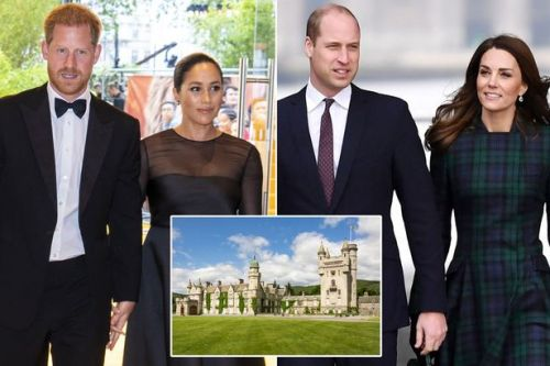 Meghan Markle and Harry won't join Kate Middleton and Wills in Balmoral for summer trip