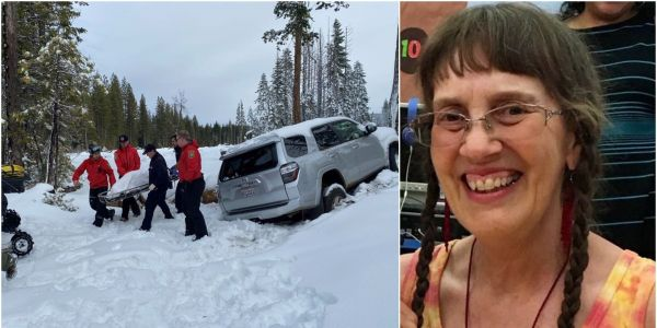 A 68-year-old woman with dementia survived in a car trapped in snow for six days, and no one knows how