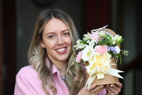 Wishaw fitness instructor is this week's Say it with Flowers winner