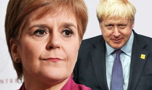 Sturgeon MOCKS Johnson over Scottish independence surge - 'He knows he can't block Scots!'