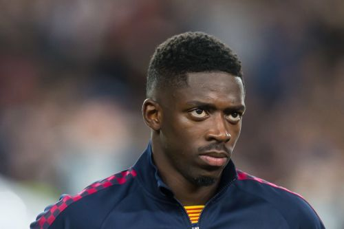 Barcelona make clear demand as Manchester United begin talks to sign Ousmane Dembele on loan