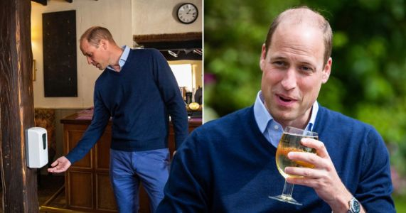 Prince William hits local pub for cheeky pint ahead of reopening