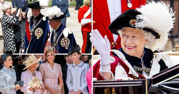 Hundreds join Queen for annual Order of the Garter ceremony