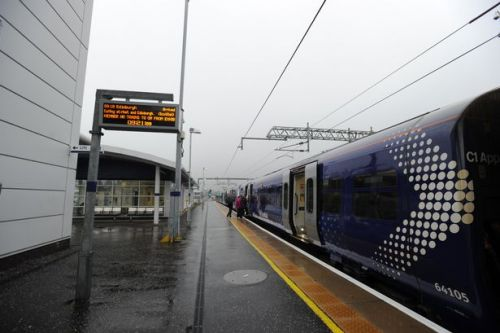 Planned engineering works will cause disruption on the trains in West Lothian at the end of the month