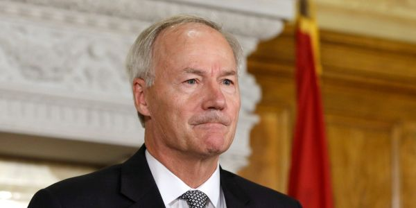 Arkansas Gov. Hutchinson says debate over the anti-trans bill he vetoed is about 'the future' of the GOP