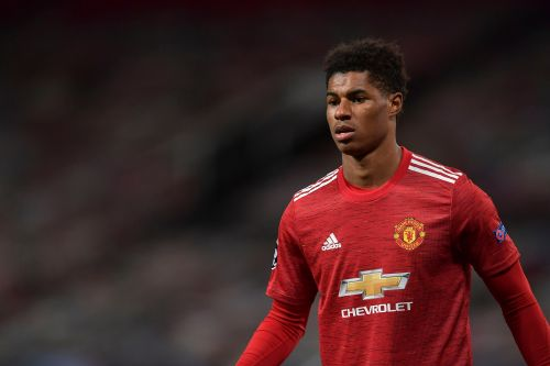 Marcus Rashford should start on bench for Manchester United against Arsenal, says Paul Merson