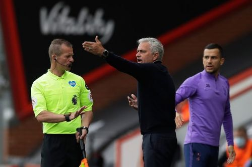 Jose Mourinho calls on referees to front up for 'disgraceful decisions'